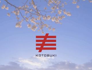 kotobuki-ent.co.jp screenshot