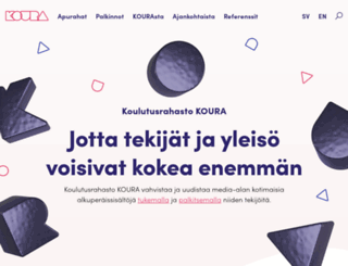 koulutusrahastokoura.fi screenshot