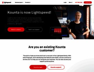 kounta.com screenshot