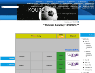 koura-sat.blogspot.com screenshot