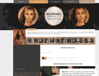 kourtney-daily.com screenshot