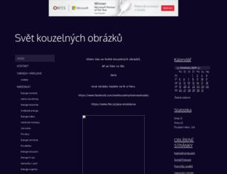 kouzelneobrazky.webgarden.cz screenshot