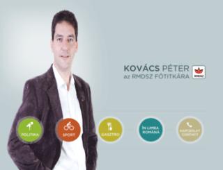 kovacspeter.ro screenshot