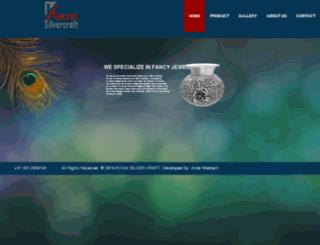 kovaisilvercraft.com screenshot