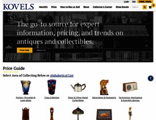 kovels.com screenshot