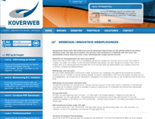 koverweb.nl screenshot