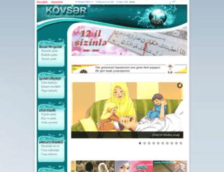 kovser.az screenshot