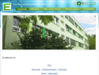 kowarealschule.edupage.org screenshot