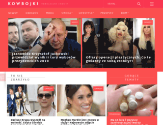 kowbojki.pl screenshot