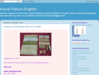 koyukipalacesales.blogspot.com screenshot