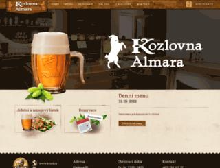 kozlova-almara.cz screenshot