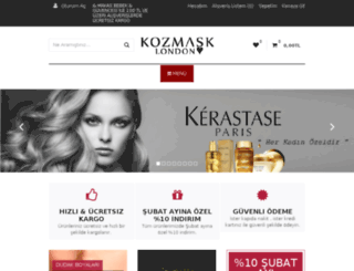 kozmask.com screenshot