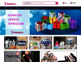 kozmoperi.com screenshot