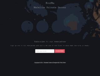kozmubg.net screenshot