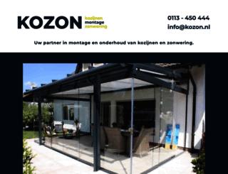 kozon.nl screenshot