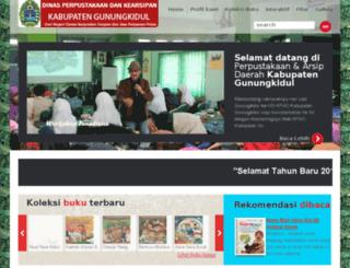 kpad.gunungkidulkab.go.id screenshot