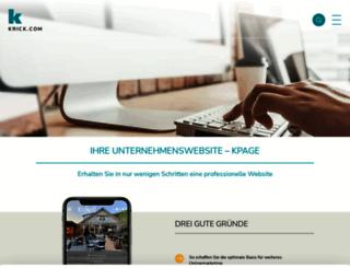 kpage.de screenshot