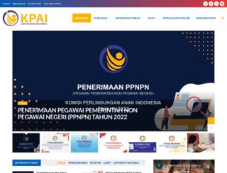 kpai.go.id screenshot