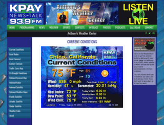 kpayweather.com screenshot