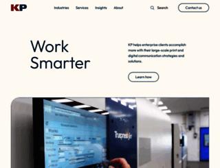 kpcorp.com screenshot