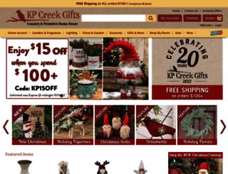 kpcreek.com screenshot