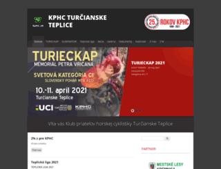 kphc.sk screenshot