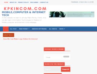 kpkincom.com screenshot
