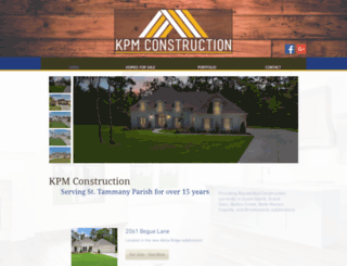 kpmconstruction.com screenshot