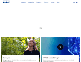 kpmg.co.uk screenshot