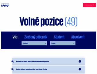 kpmg.jobs.cz screenshot