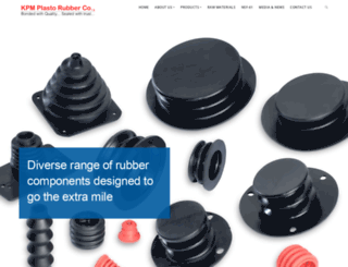 kpmrubber.com screenshot