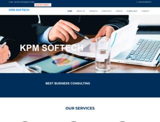 kpmsoftech.com screenshot