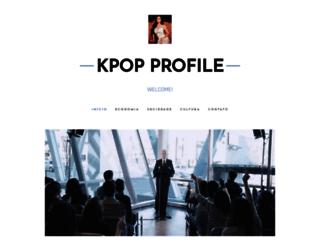 kpop-profile.webnode.com screenshot