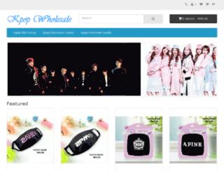 kpop-wholesale.com screenshot