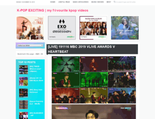 kpopexciting.blogspot.co.uk screenshot