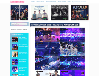 kpopexciting.blogspot.com.co screenshot