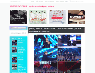 kpopexciting.blogspot.jp screenshot