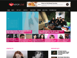 kpoplove.com screenshot