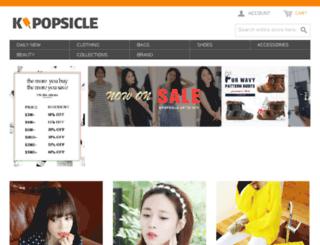 kpopsicle.com screenshot