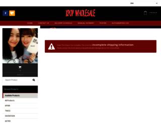 kpopwholesale.avana.asia screenshot