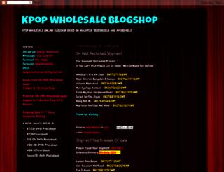 kpopwholesaleshop.blogspot.my screenshot