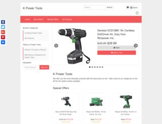 kpowertools.tesb1.com screenshot