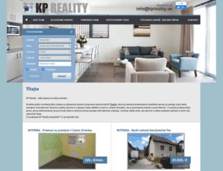 kpreality.sk screenshot