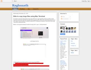 kprraghu.blogspot.com screenshot