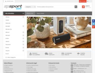 kpsport-shop.com screenshot
