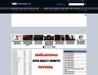 kpss.memurlar.net screenshot