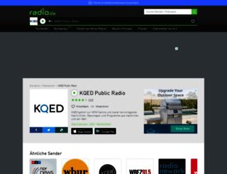 kqed.radio.de screenshot