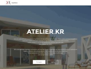 kr-atelier.com screenshot