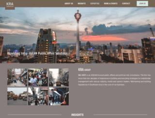 kra-group.com screenshot