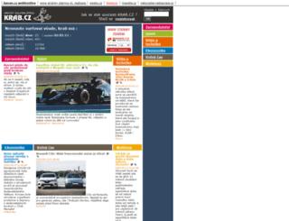 krab.cz screenshot